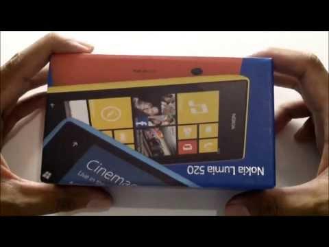 Nokia Lumia 520 Unboxing