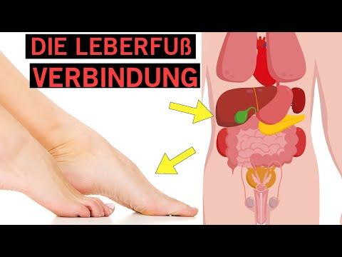 Am Fuß erkennst du ob es deiner Gesundheit schlecht geht!