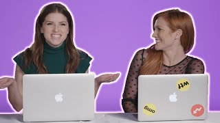 "Anna Kendrick, Anna Camp, and Brittany Snow Find Out Which ""Pitch Perfect"" Character They Really Are"