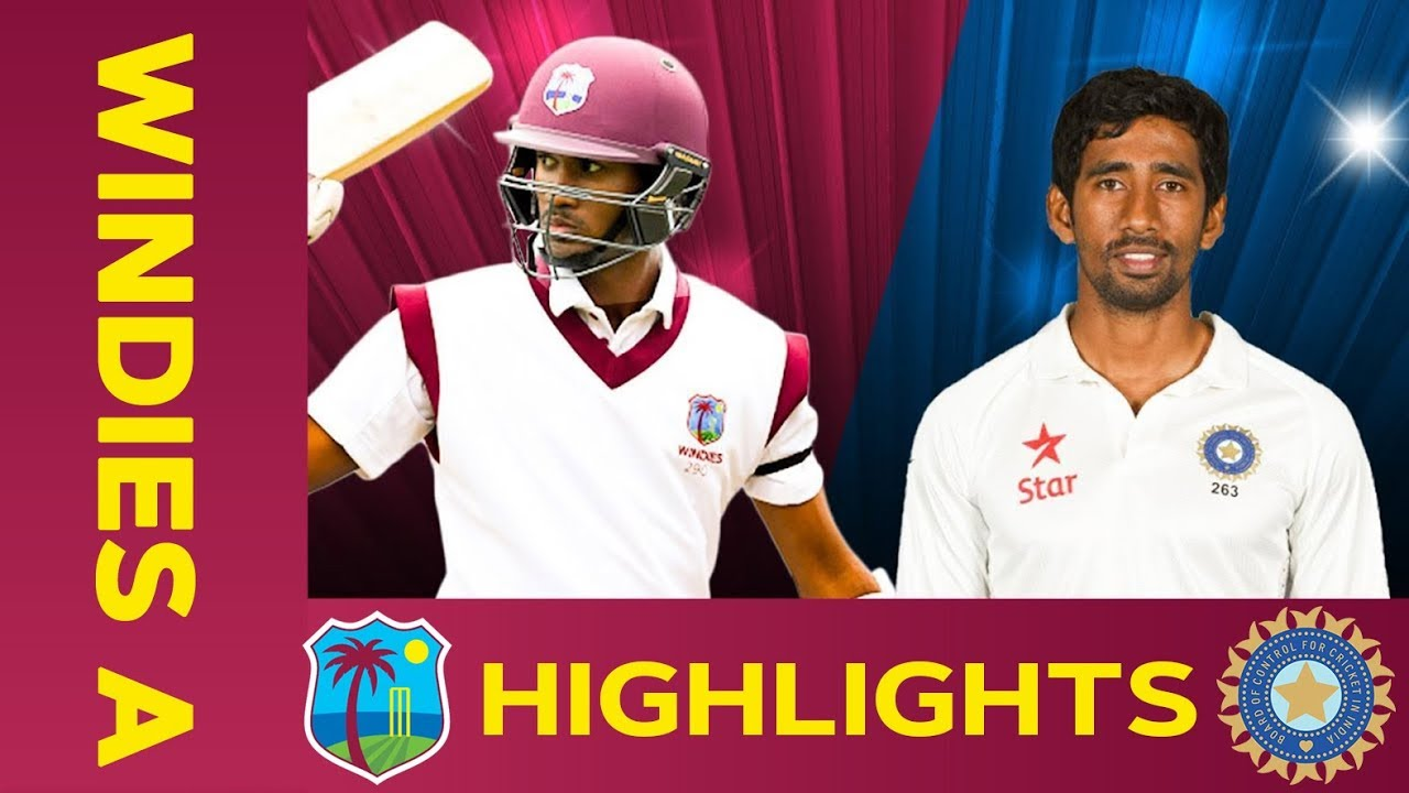 West Indies A vs India A - Match Highlights | 1st Test - Day 1 | India A Tour of West Indies