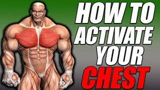 Chest Activation | How To Feel Your Chest