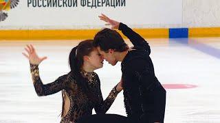 Произвольный танец Танцы на льду Кубок России по фигурному катанию 2020 21