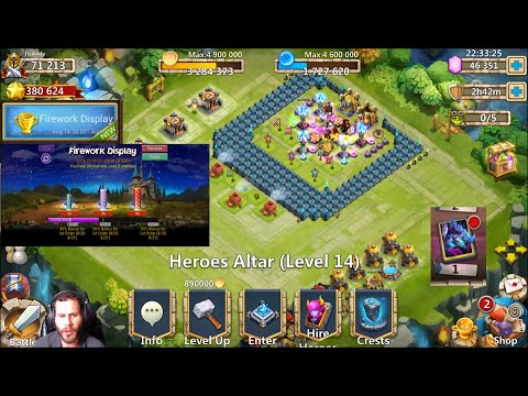 Arcticas Everywhere On Android? 24 Fireworks 46000 On Heroes Castle Clash