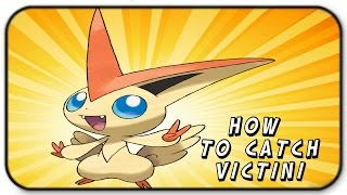 I Caught The Legendary Pokemon Victini - Roblox Pokemon Brick Bronze