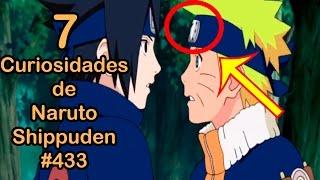 7 CURIOSIDADES de NARUTO SHIPPUDEN 433 | Dash Aniston