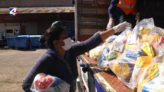 Llegaron las 2 000 canastas donadas por Nicolás Lodeiro