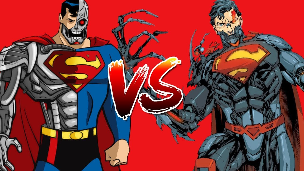 Cyborg Superman vs Cyborg Superman - M.U.G.E.N. - YouTube