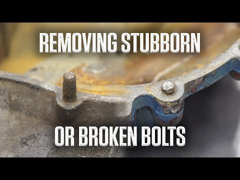 Tricks for removing stubborn or broken bolts | Hagerty DIY