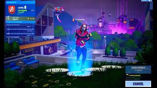 Getting a victory royal on team rumble - FORTNITE BATTLE ROYAL
