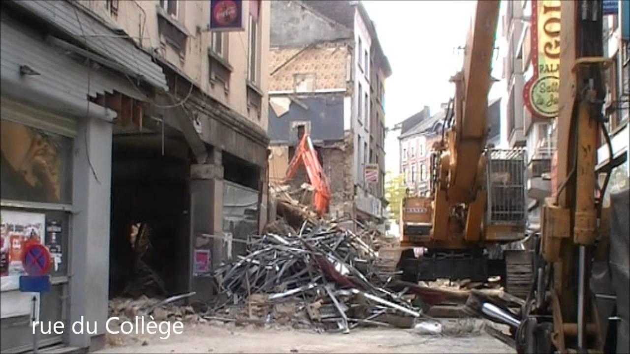 Charleroi ville bombard e non youtube for Basse goulaine piscine