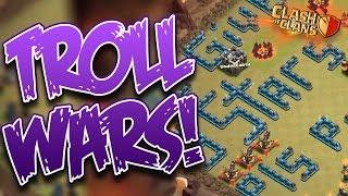 "Clash of Clans: ""240 Goblins... 3 Stars in WAR?!"" | FUNNY Troll War Recap MUST SEE!"
