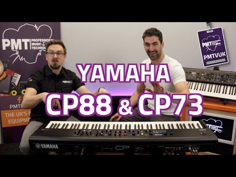Yamaha CP88 & CP73...Nord Beating Stage Pianos?!?  Overview & Demo with Luke Juby