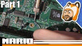 Let's Upgrade an Original Xbox! - TSOP Flash & Clock Capacitor Removal - Part 1