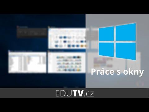 Práce s více okny ve Windows 10 | EduTV