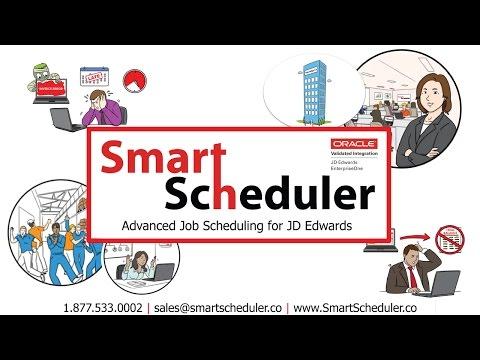 Smart Scheduler Video | JD Edwards Advanced Job Scheduling
