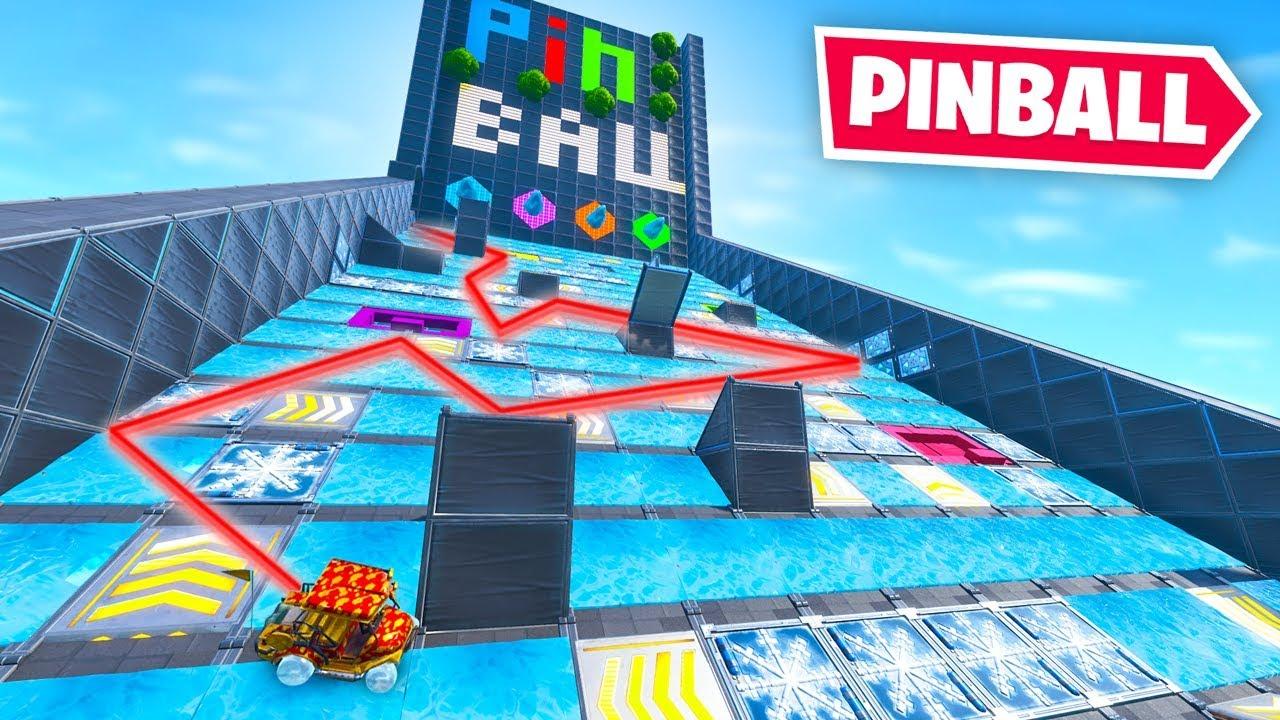 We built a PINBALL MACHINE in Fortnite