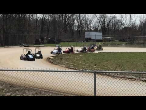 Little Eldora Speedway - go-kart racing action!
