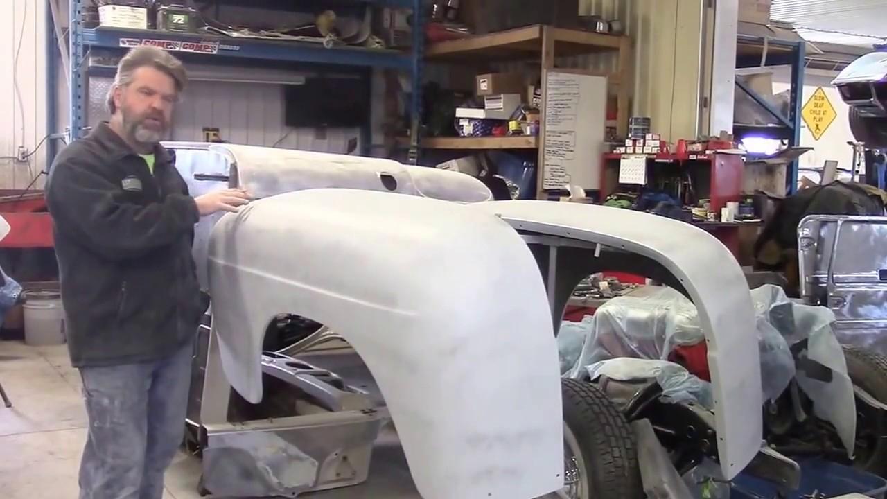 1950 Ford F47 F1 Truck Restoration Update Rear Fenders