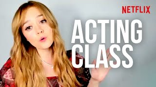 An Acting Class with the Cast of Sex Education! | Netflix