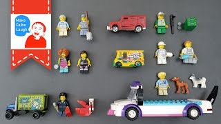 Learn Community Helpers and Occupation for kids with lego tomica トミカ
