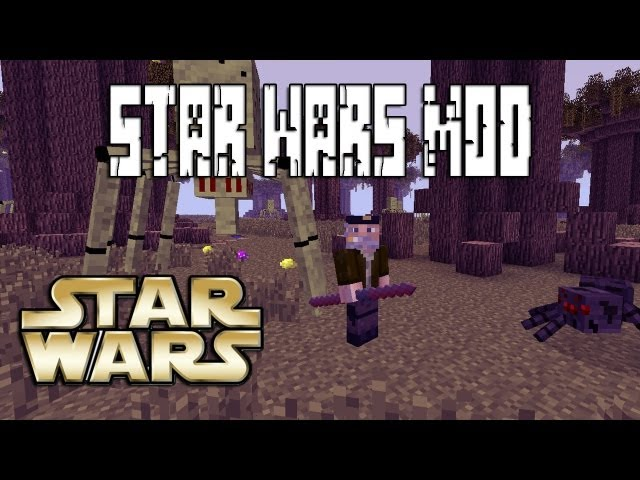 STAR WARS - MINECRAFT MOD Videos De Viajes