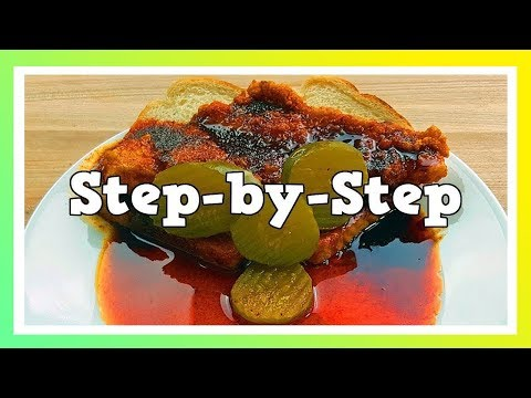 How To Make KFC Nashville Hot Chicken At Home ~ KFC Copycat Recipe