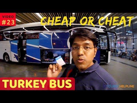 My Overnight Bus trip in Turkey | What went wrong! (Denizli to Goreme)