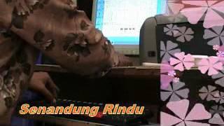 Belajar Orgen Tunggal dengan Computer PC lagu Senandung Rindu