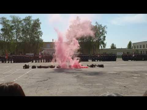 Парад 9 мая 2019г. Светлый. Выступление роты Противодиверсионной Борьбы