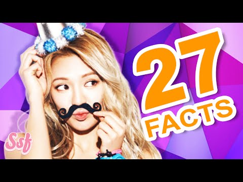 27 All About Hyoyeon Facts Video - Girls
