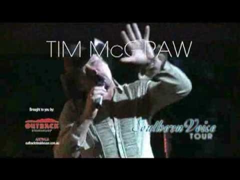 Tim McGraw - Australian Tour 2010