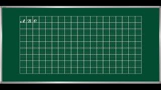 Hướng dẫn kẻ oly như tập vở học sinh-Sử dụng font Unitapviet