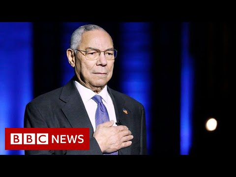 Colin Powell, former US secretary of state, dies of Covid complications - BBC News