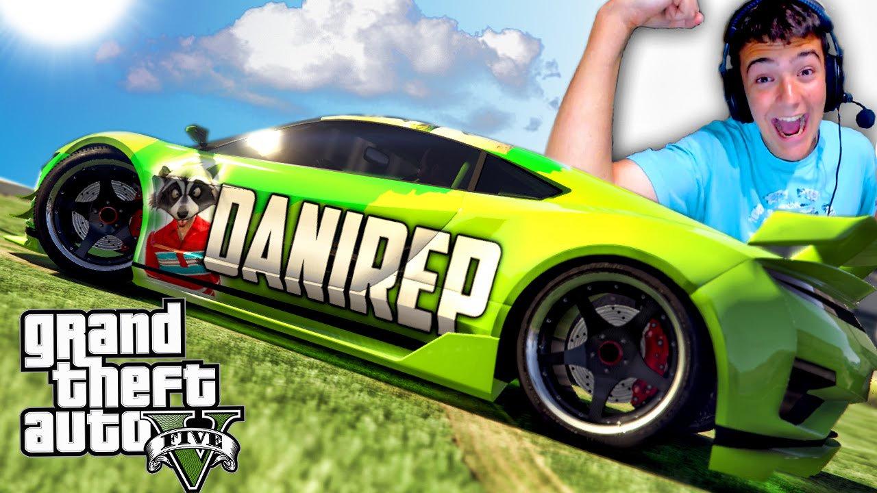 TOP COCHES YOUTUBERS | GTA 5 PC MODS | Danirep, El rubius, Fernanfloo, pokemon go, hack parte 2