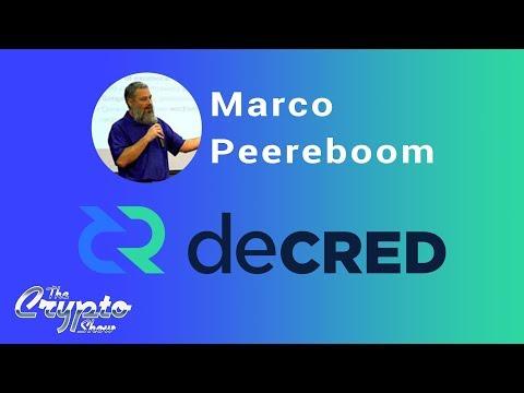 The Basics of Decred with Marco Peereboom