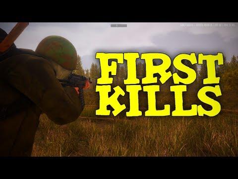 FIRST KILLS!   NEXT DAY: SURVIVAL