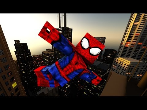 THE AMAZING SPIDER-MAN 2 (Minecraft Animation 3D)