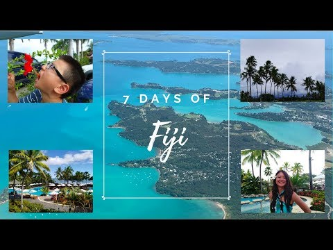 7 Days of Fiji | Travel Vlog 2019
