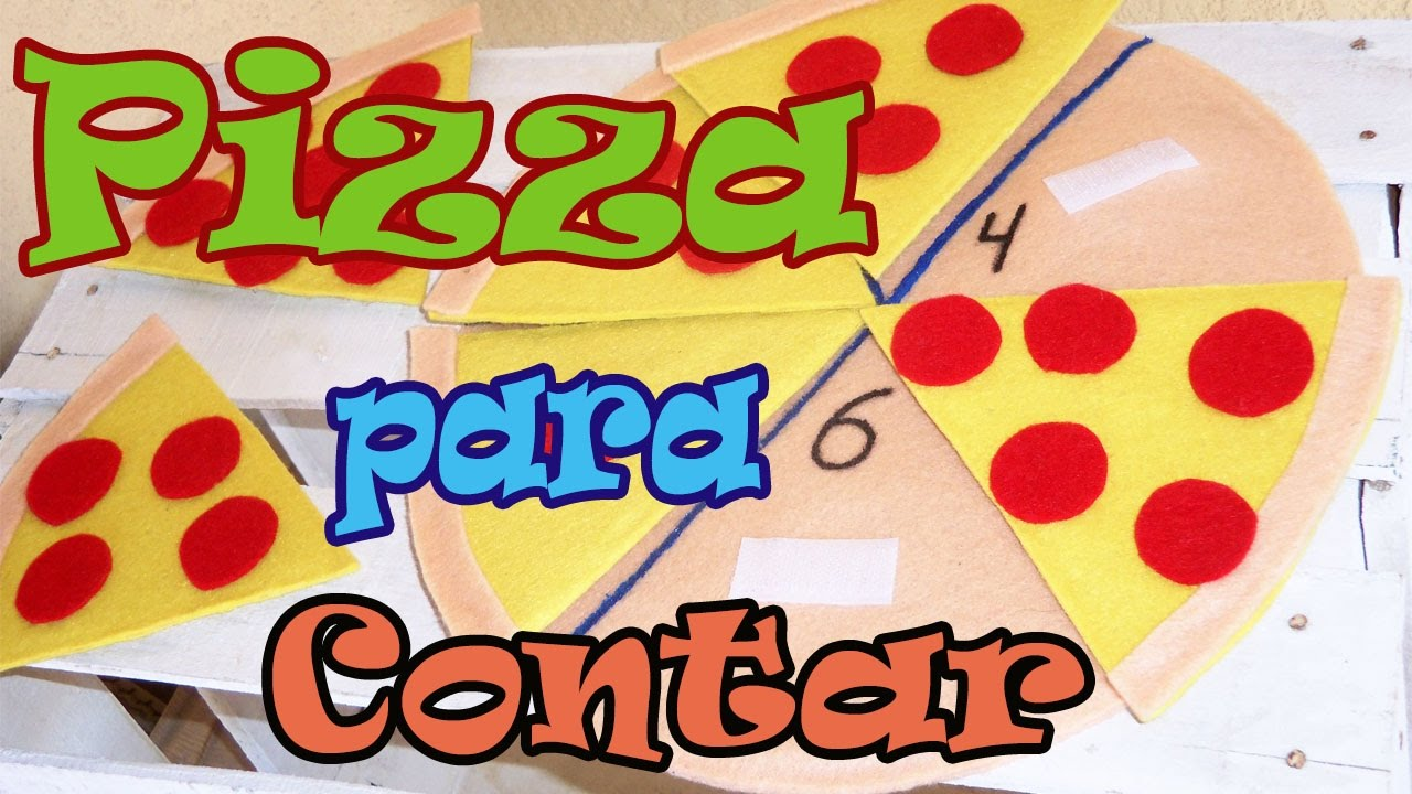 Juegos Educativos Para Ninos Pizza Para Contar Preescolar