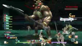 Floor 78 The Horn of Madness Boss Battle - Sword Art Online RE: Hollow Fragment PS4