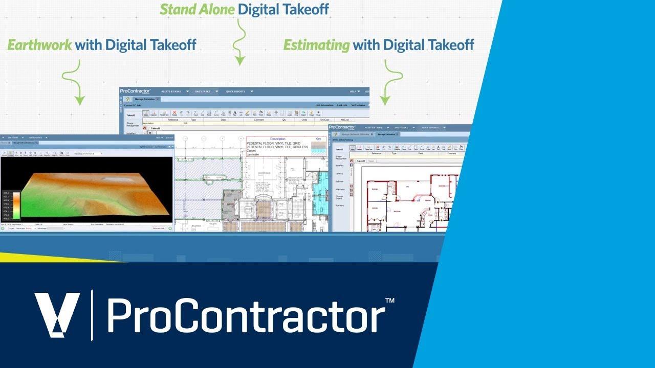 viewpoint procontractor estimating