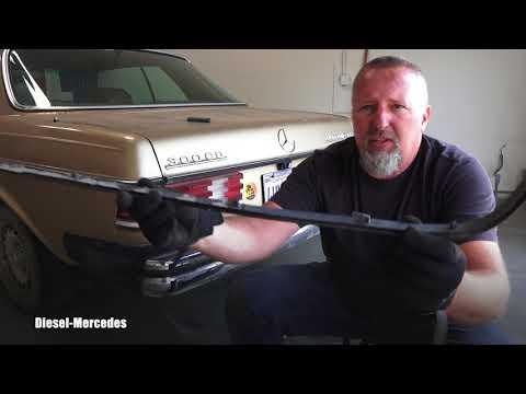 Mercedes W123 Rear Bumper