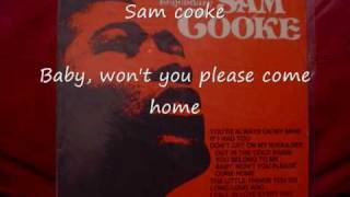 Sam Cooke-baby, won