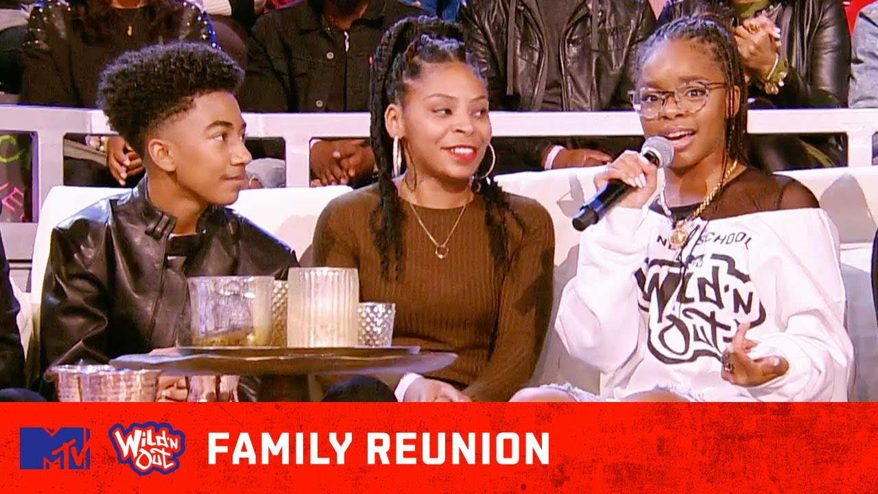 'Black-ish' Stars Marsai Martin & Miles Brown Pull Up for a Family Reunion 😂 Wild 'N Out