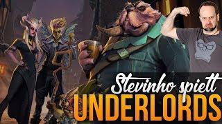 Stevinho spielt Dota Underlords