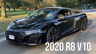 A Test Drive In The 2020 Audi R8 V10