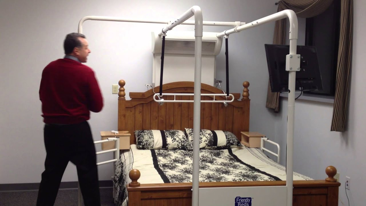 Friendly Beds Video Bed Mobility Trapeze Elderly