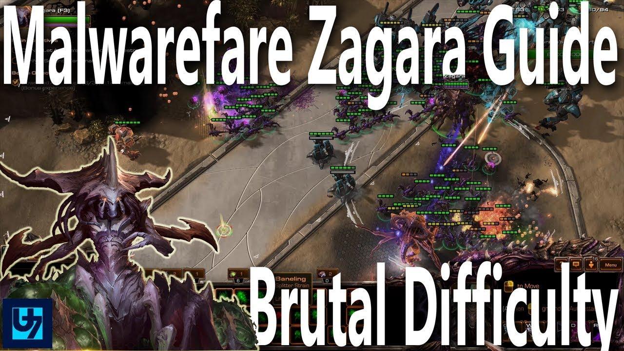 Starcraft 2 Zagara Level 15 Malwarefare Walk Through Brutal Co Op Mission 4k Youtube Zagara is now has some legitimately strong static defense! youtube