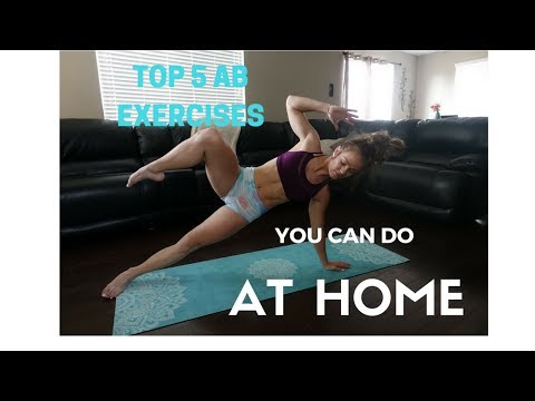 My 5 Favorite at HOME Ab exercises