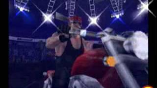 undertaker entrance in wwf raw game